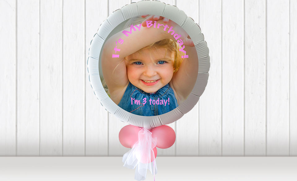 Fuji Fujifilm Galway personalised photo balloons