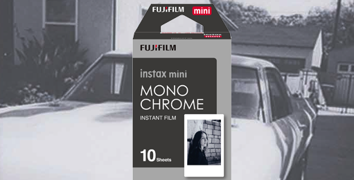 Fuji Fujifilm Galway instax bw film for instant photos