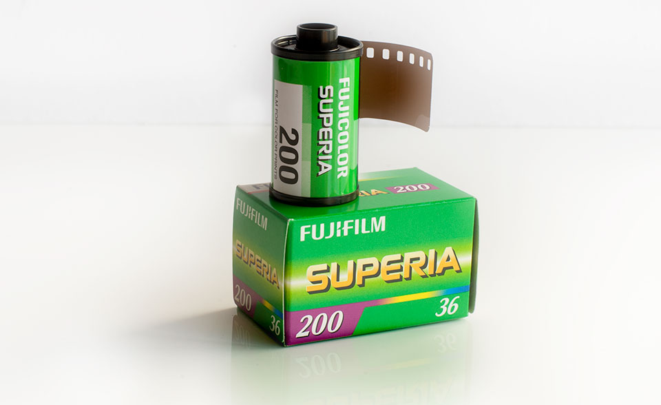 Fuji Fujifilm Galway film to print and process 35mm
