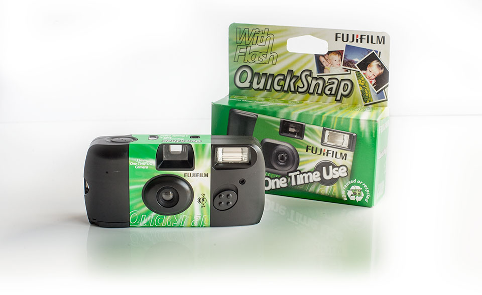 Fuji Fujifilm Galway disposable film camera
