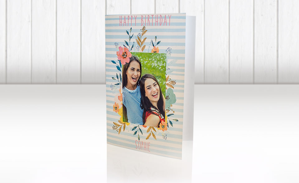 Fuji Fujifilm Galway Personalised Birthday Cards with photos