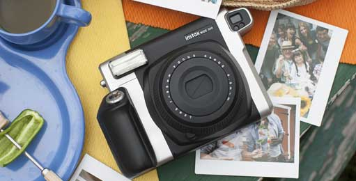Fuji Fujifilm Galway instax WIDE 300 for polaroid style photos in an instant