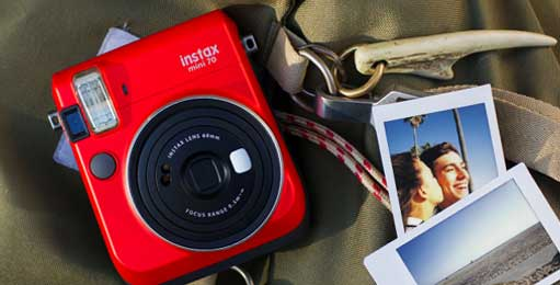 Fuji Fujifilm Galway instax 70 for instant polaroid photos in an instant