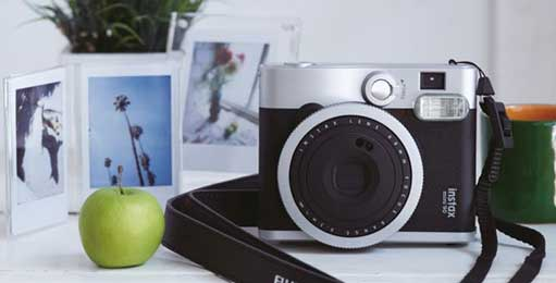 Fuji Fujifilm Galway instax mini 90 for polaroid style photos in an instand with a retro feel