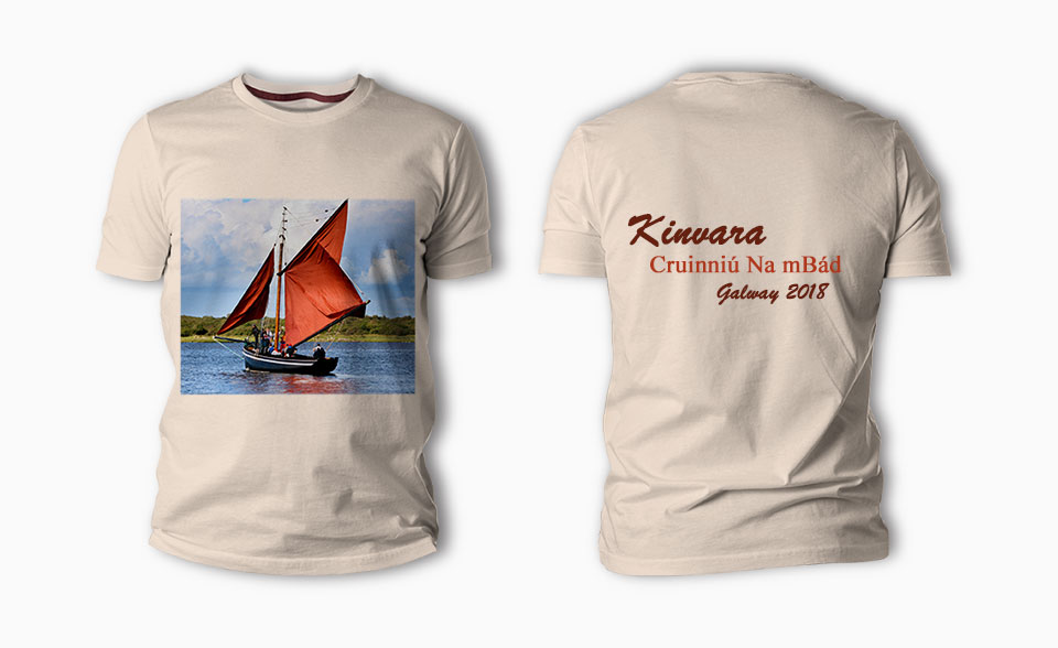 Fuji Fujifilm Galway Customised tee shirts in galway with personalised photo