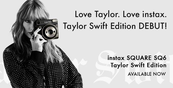 Taylor Swift SQ6 Instant Instax Polaroid Camera